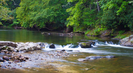 carolina: Wilson Creek encounters some rocks in North Carolina