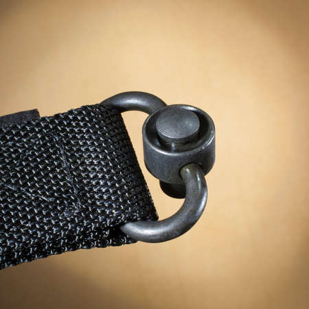 Nylon webbing rigged with a device for quick detachment Reklamní fotografie