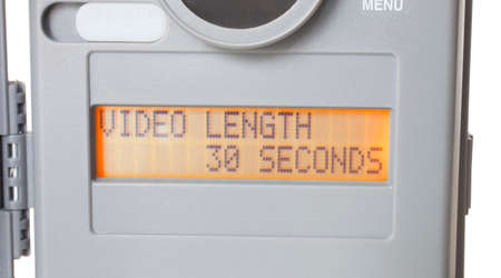 determines: Setting on a security camera that determines length of the video captured