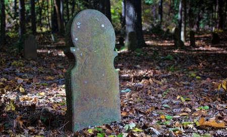ムーア郡ノースカロライナ州に位置する古いスコットランドの墓地