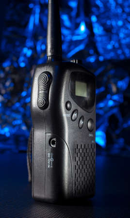 Walkie-talkie that operates on the multi user radio system