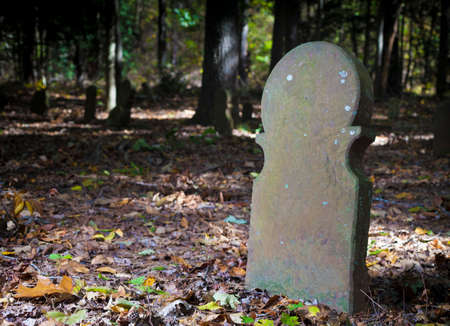 Old Scottish Cemetery in Moore County in North Carolina