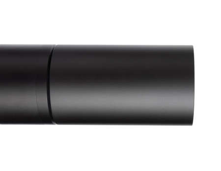 Long shade to block light from a rifle scope objective lens