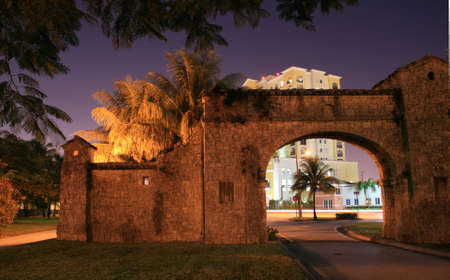 gables: Alhambra Entrance, Coral Gables Editorial
