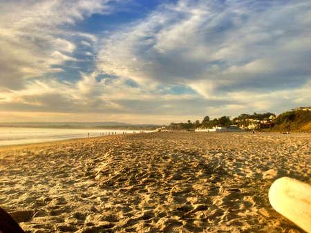 A beautiful day at the beach  版權商用圖片