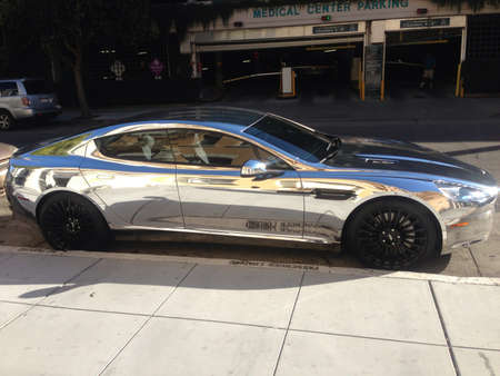 chrome: Chrome car