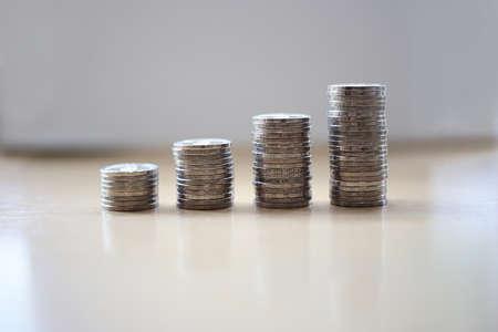 Moneta do kąpieli tajskiej ułożona razem