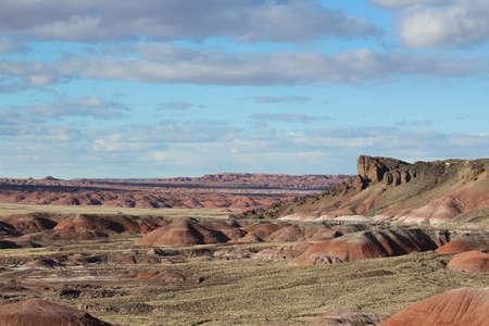 Painted Forest Arizona USA Reklamní fotografie