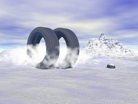 winter tires photo
