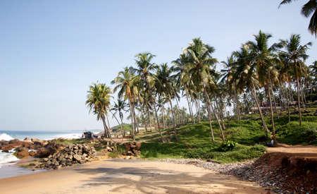 kovalam: Kovalam beach in Kerala, India
