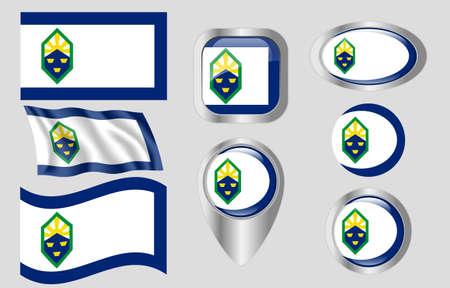 Colorado Springs, Colorado flag