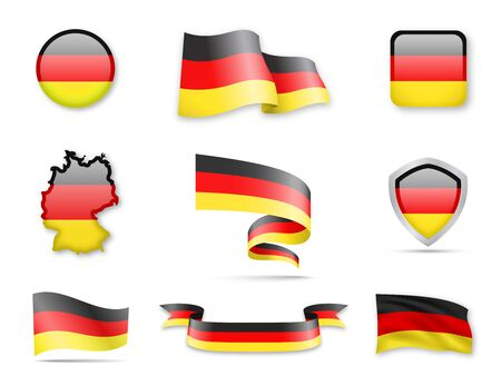 Germany Flags Collection