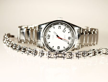Watch and Jevel Stock Photo