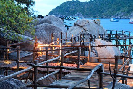nangyuan: Thailand, Koh Nangyuan  Nangyuan Island , panoramic view of the island