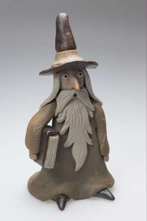 oz: Small wizard Stock Photo