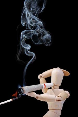 Fumar marihuana  Foto de archivo - 7174088
