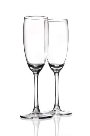 Champagne glasses  photo