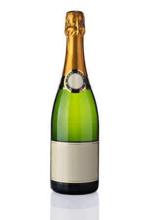 Bottle of champagne Standard-Bild