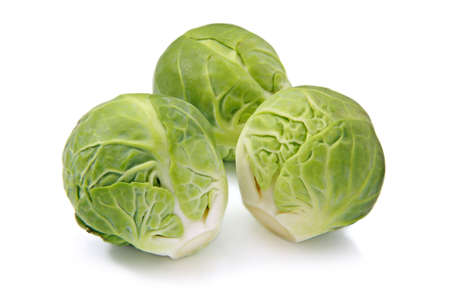 green cabbage: Brussels sprouts Stock Photo