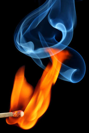matchstick: Matchstick bursting to flame