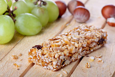fruit bars: Cereal bar concept