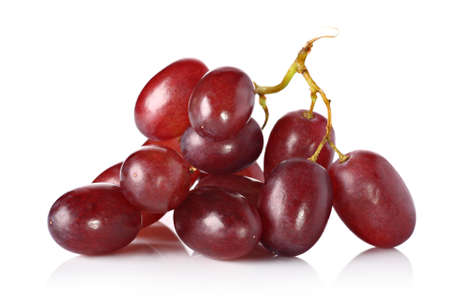red grape: Red grapes  Stock Photo