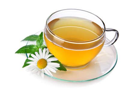 Tea with chamomile Stock Photo - 8956571