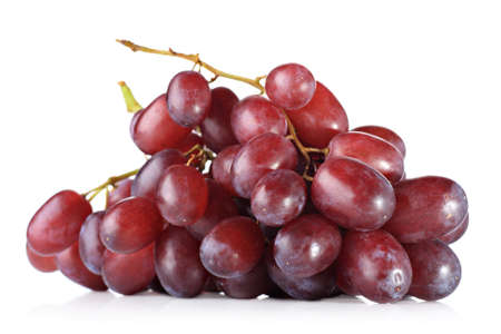 cluster: Red grapes