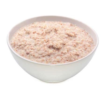 Hot porridge breakfast