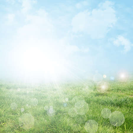 Abstract spring and summer background Stock Photo - 9546931