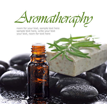 aromatherapy: Aromatherapy, natural essential oil border