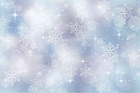 Winter background for christmas and holiday season photo