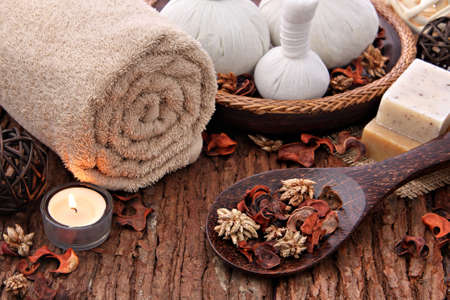 day spa: Spa massage setting