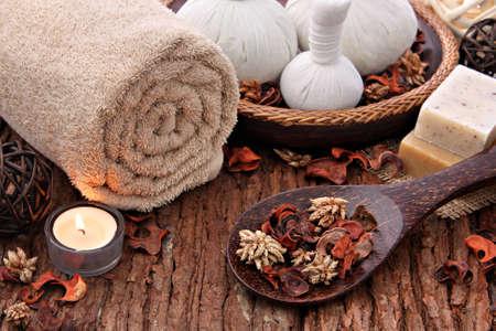 massaggio: Spa massaggio impostazione Archivio Fotografico