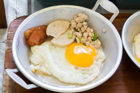 fryingpan: Egg pan Stock Photo