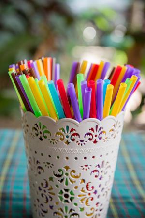plastic pipe: colorful tube