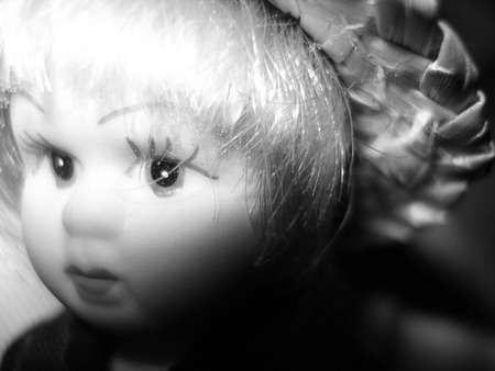 perplexity: Face of a porcelain doll