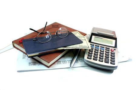 Business Utensils Stock Photo