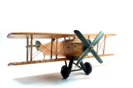 Wooden Plane Stock Photo