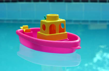 Toy Boat Stock Photo