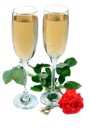 Wedding Toast 版權商用圖片 - 729058