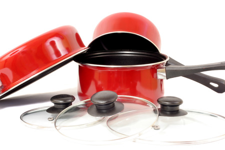 Pots and Pans 版權商用圖片