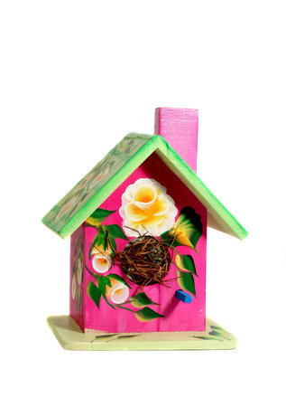 Decorated Bird House