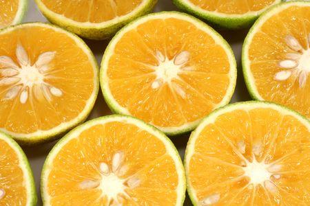Cut Oranges photo