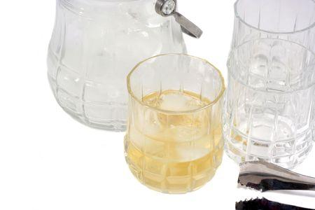 distillers: Glass of Liquor Stock Photo