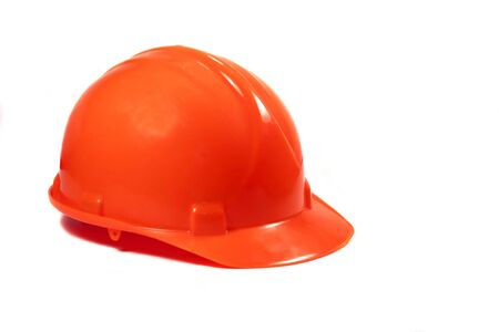 Orange Hard Hat Stock Photo - 2024578