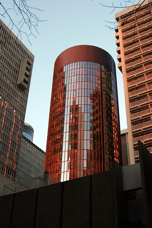 sunup: Sun Bathed Building