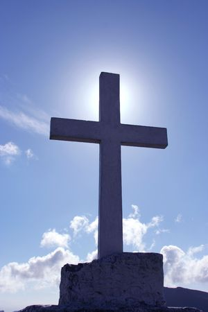 Cross and Sky photo