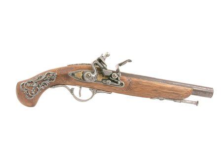 Replica of an old revolver