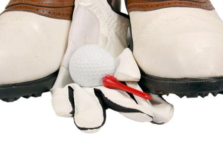 Golf Shoes Close-up photo